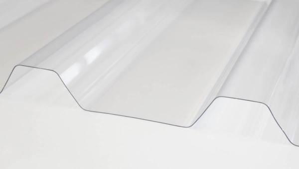 Lichtplatte Polycarbonat M 50/250 1,20 mm