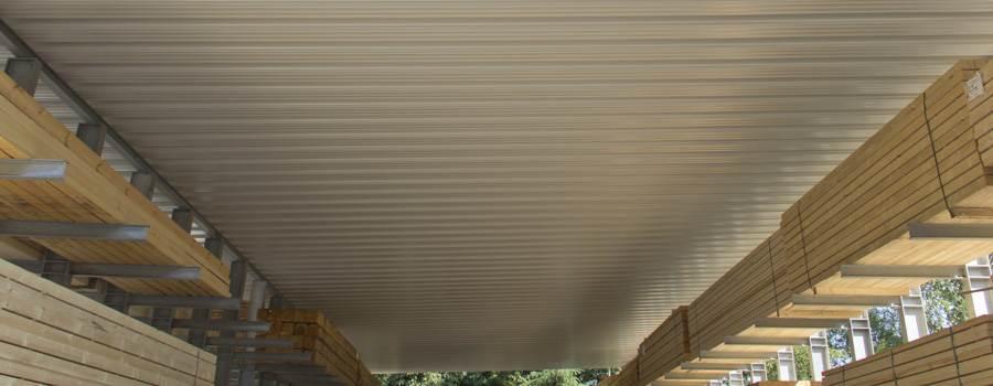 Gut bekannt Trapezbleche als Holzlagerabdeckung: Tipps zur Anwendung NW06
