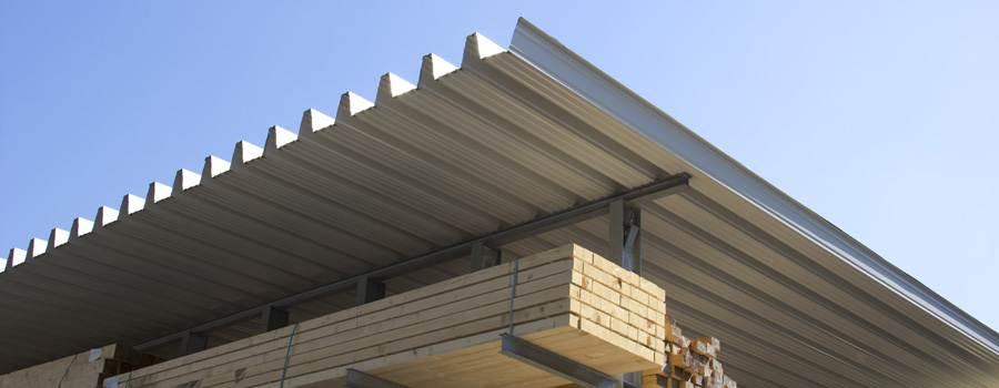 Sehr Trapezbleche als Holzlagerabdeckung: Tipps zur Anwendung GJ78