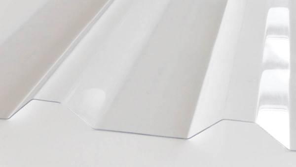 Lichtplatte Polycarbonat M 35.1/207 1,20 mm
