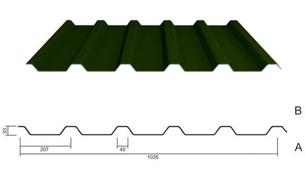 M 35/207 Stahl 0,63